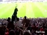 Фанаты Турецкого Бешикташа ,конкретная шиза!!))