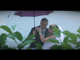 Считается, что дождь в день свадьбы предвещает счастливую и долгую совместную жизнь. Пусть так и будет у Дмитрия и Ксении!