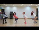 Dalshabet 달샤벳 - 금토일 FRI. SAT. SUN Dance Practice Mirrored