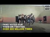 оч крутое видео в новостях о победе бантан