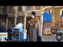 Дионисий, иером. (настоятель храма Покрова Божией Матери в с. Лыково) Проповедь о посте в Неделю крестопоклонную.