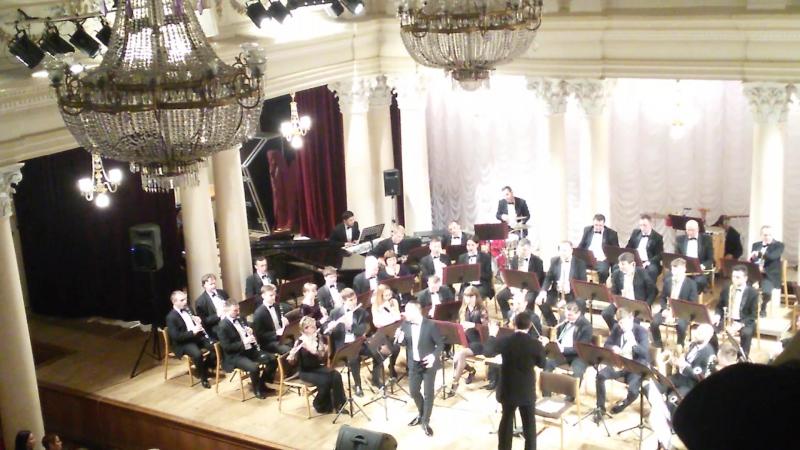 Something stupid - Frank Sinatra (Национальный духовой академический оркестр Украины)