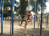 Vlog: Увидел канат! Спорт там где я!
