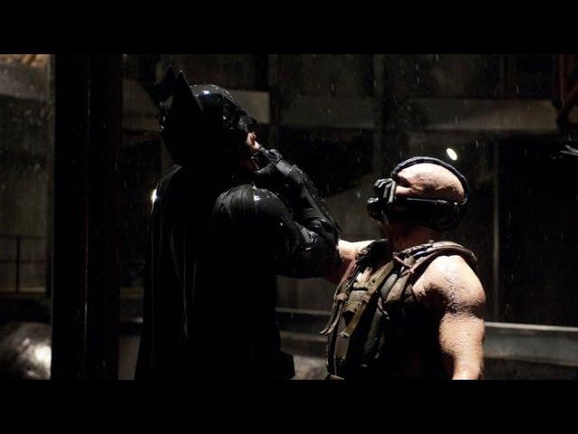 Темный рыцарь Бэйн уничтожает Бэтмена (Отрывок)