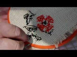 Как исправить ошибку в вышивке крестом