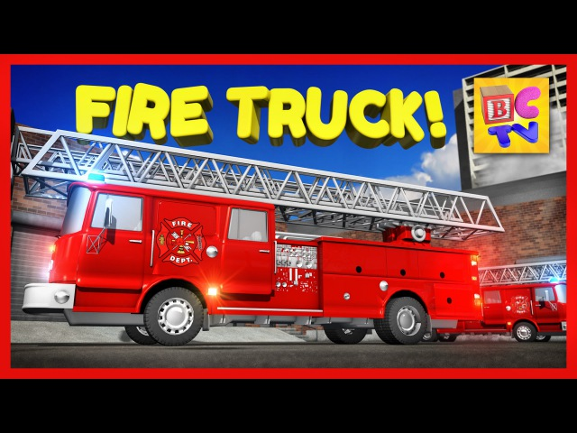 Learn About Fire Trucks for Children | Educational Video for Kids by Brain Candy TV