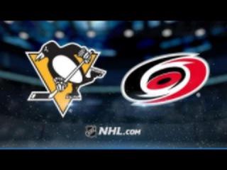 Pittsburgh Penguins vs Carolina Hurricanes NHL Game Recap