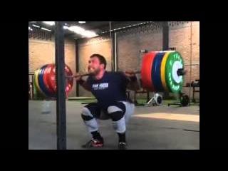 Dmitry Klokov Squat 260 kg Дмитрий Клоков Приседания 260 кг