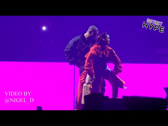 Watch Drake And Rihanna Perform