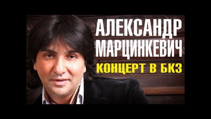 Александр Марцинкевич LIVE концерт в БКЗ Октябрьский 2015