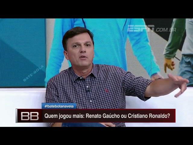 ⚽ Renato Gaucho◾Mauro define comparação com CR7: Piada ,Brincadeirinha.