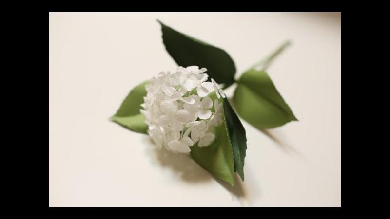 Crepe paper flowers Hydrangea Easy Simple FULL tutorial FREE !