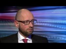 Arseniy Yatsenyuk: Russia should 'get out' of Ukraine