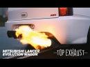 Mitsubishi Lancer Evolution WAGON - Top Exhaust - Apexi N1 Sound.