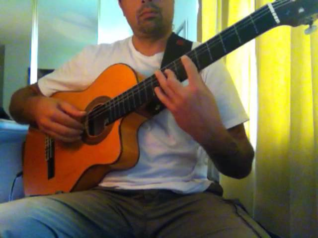 Iron Maiden Aces High (acoustic) Ben Woods on Flamenco Guitar