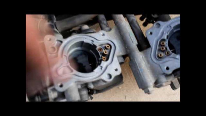 Honda VFR 750f Чистка настройка синхронизация карбюраторов