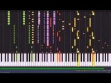 ЛедиБаг и Супер-Кот песня на пианино / Miraculous Ladybug Piano online-multy.ru