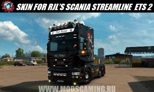Euro Truck Simulator 2 download mod skin SCANIA STREAMLINE RJL'S 1.26.X