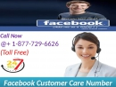 Single Click on Facebook Customer Care Number 1-877-729-6626 get authentic arrangement