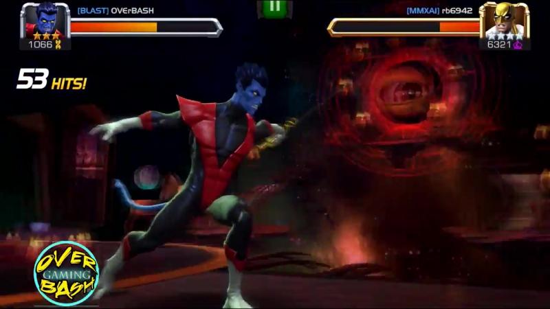Marvel Contest Of Champions- New_ NightcrawlerVs Ironfist _ Bamf, Evade, Precision, Bleed