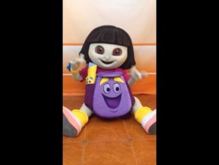 Даша путешественница ростовая кукла
