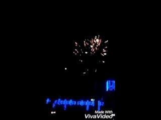 Салют на Новый 2017 Год в г.Лисаковске
