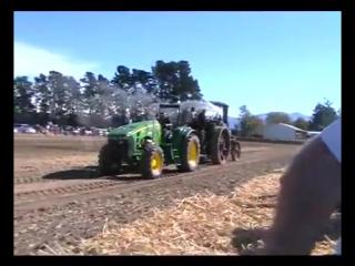 Битва тракторов дрова vs