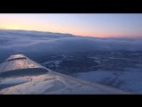 Ту-154 UTair Мурманск-Москва