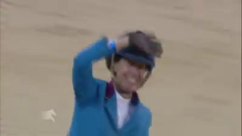 Luciana Diniz и её потрясающая лошадь Fit For Fun (Fitty) на пути к победе в Гран при LGCT Doha в 2015 году