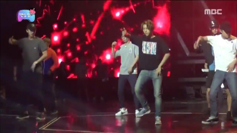 [Infinite Challenge] 무한도전 - Yoojaeseok with EXOs rehearsal is tetany 20160917