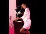 Angel Jasmine Tookes and her Fantasy bra