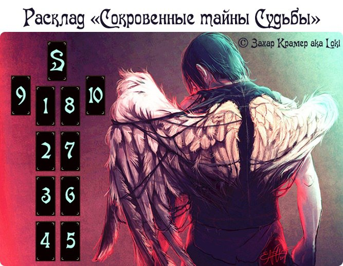 """Расклад """"Сокровенные тайны Судьбы""""  © Захар Крамер aka Loki -aOatQ6sQlA"""
