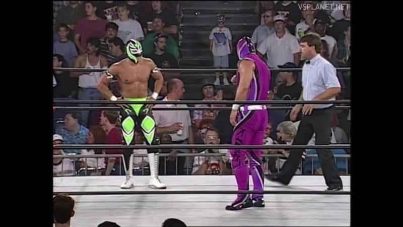Rey Mysterio vs Mister JL, WCW Monday Nitro 26.08.1996