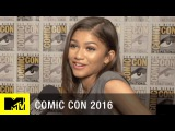 What Does 'Spider-Man' Have to do w/ Zendayas First Date?   Comic Con 2016   MTV