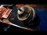 Как поменять переднюю опору двигателя VW Passat B3.