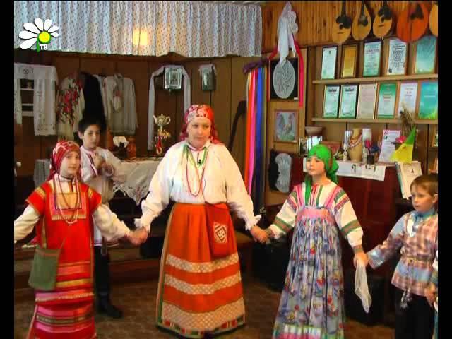Русские народные вечёрки от фольклорного ансамбля «Пчёлка»