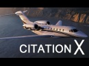 Cessna Citation X самый быстрый гражданский самолет в мире