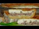 Быстрый рыбный пирог с сайрой очень нежный и вкусный