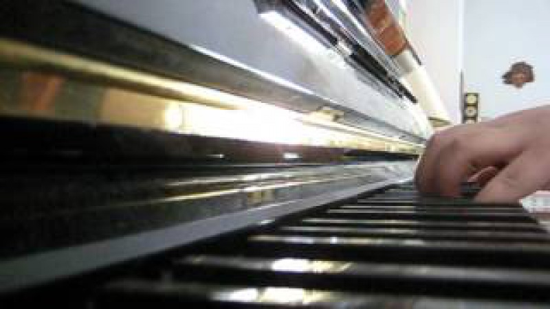 Rammstein-mein herz brennt piano cover by me