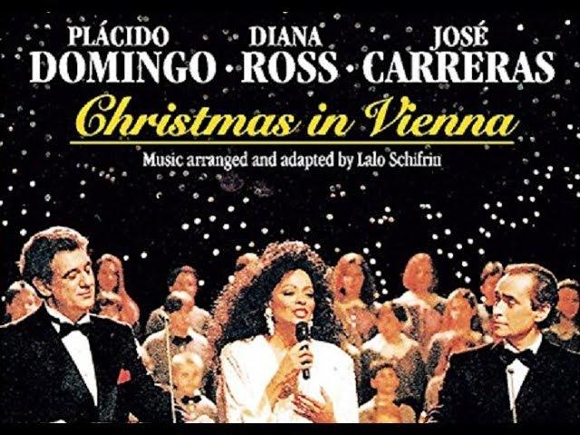 Diana Ross, Placido Domingo Jose Carreras Live Christmas In Vienna, Austria 1992