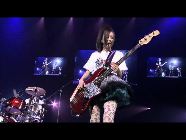 SCANDAL 2012 武道館コンサートアンコーレ曲スペースレンジャー