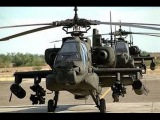 Best in the world. Attack helicopters AH-64D Apache US Army National Guard