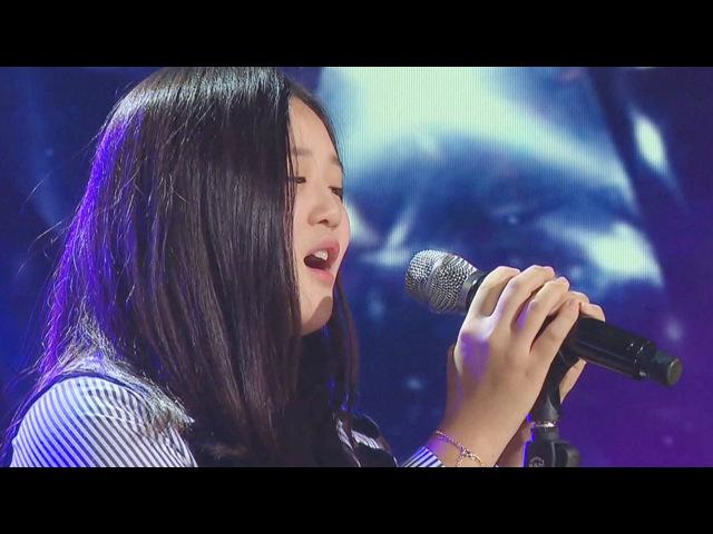 '첫 가요 도전' 유지니, 가족을 위한 노래! '사랑 그 놈' |《KPOP STAR 6》 K팝스타6 EP25