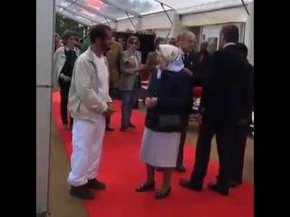 Король ОАЭ и королева Англии
