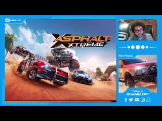 GAMELOFT CATCH-UP: Asphalt Xtreme Hoggar Concept Ford F-450 Facebook Live Reveal