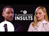 Will Smith &amp Margot Robbie Insult Each Other CONTAINS STRONG LANGUAGE!