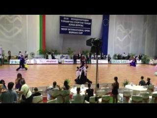 Чернышев Степан -Головатик Софья Burgas Open 2016