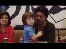 SRK Shah Rukh Khan Little AbRam Khan during FB live chat BollywoodTouringTalkies