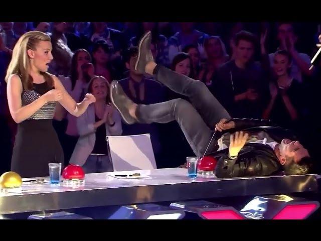SEXY UNEXPECTED Auditions EVER Make Judges JAW Drop Go CRAZY! 10 Sec Prank BONUS :)