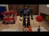 Робот Сержант разбивает ДВЕ армии солдат. The Robot Sergeant breaks TWO army soldiers.